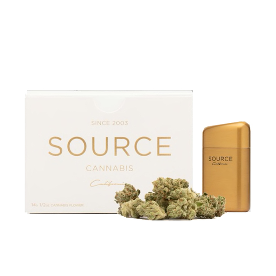 Source Half Ounce with Lighter