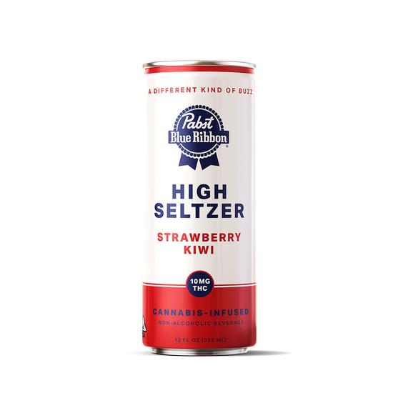 Pabst Blue Ribbon - Strawberry Kiwi High Seltzer