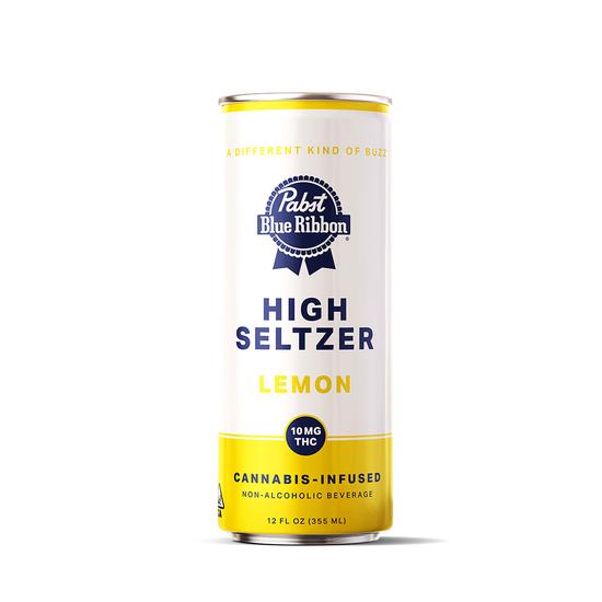 Pabst Blue Ribbon - Lemon High Seltzer