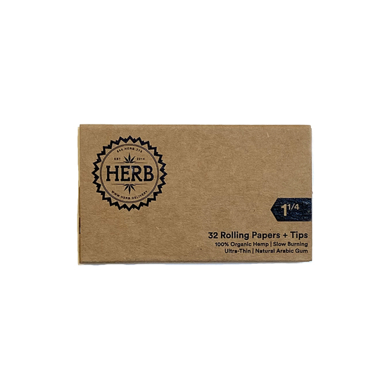 HERB Organic Hemp Papers Book Front