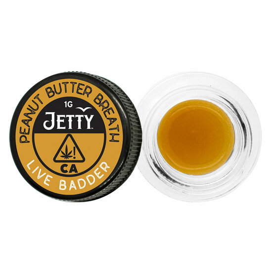 Jetty Extracts - Peanut Butter Breath (I) - Live Badder (1 Gram)