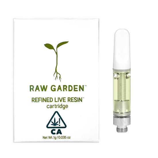 raw garden one gram cartridge