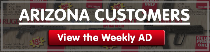 Arizona customers Discount Club Members Specials!
