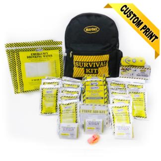 13029 Economy Emergency Backpack Kits (3 Person Kit)