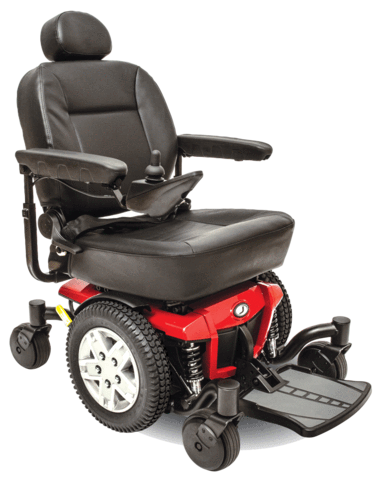 Jazzy®  600 ES Full Size Power Wheelchair