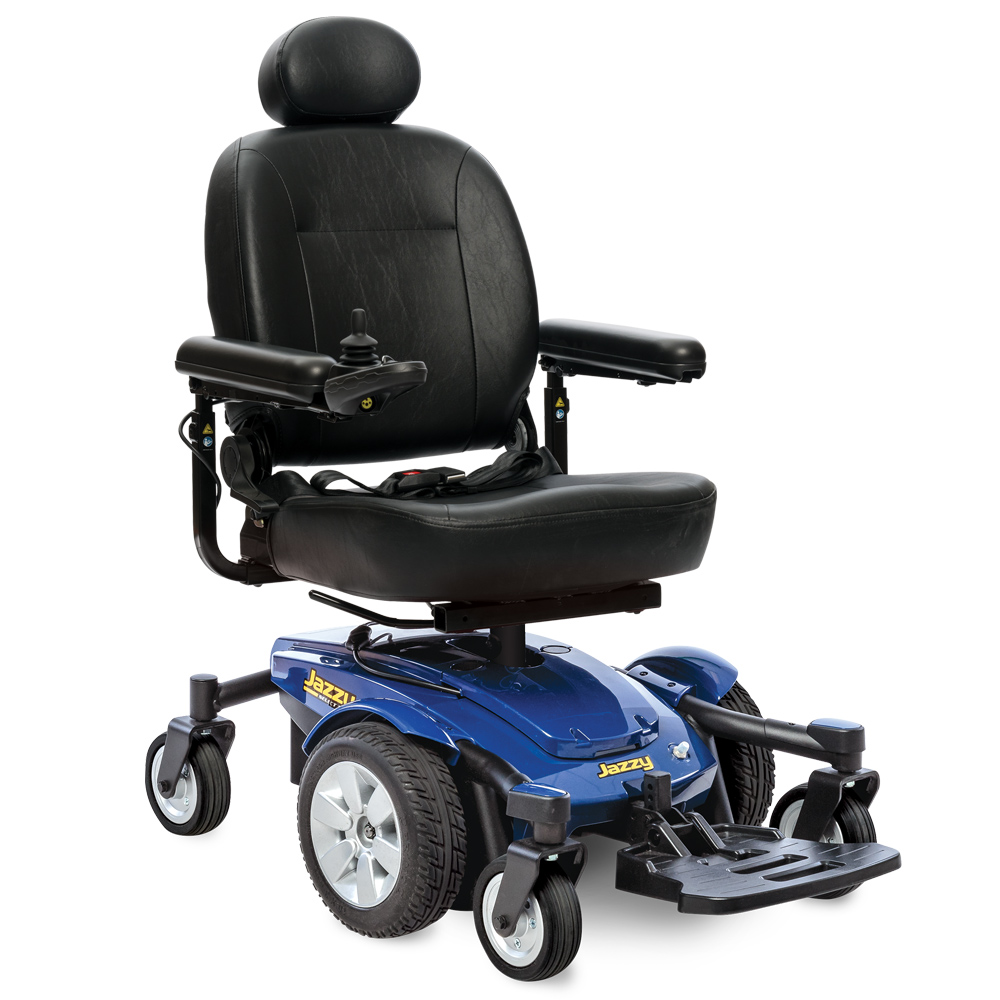 Jazzy® Select 6 Full Size Power Wheelchair