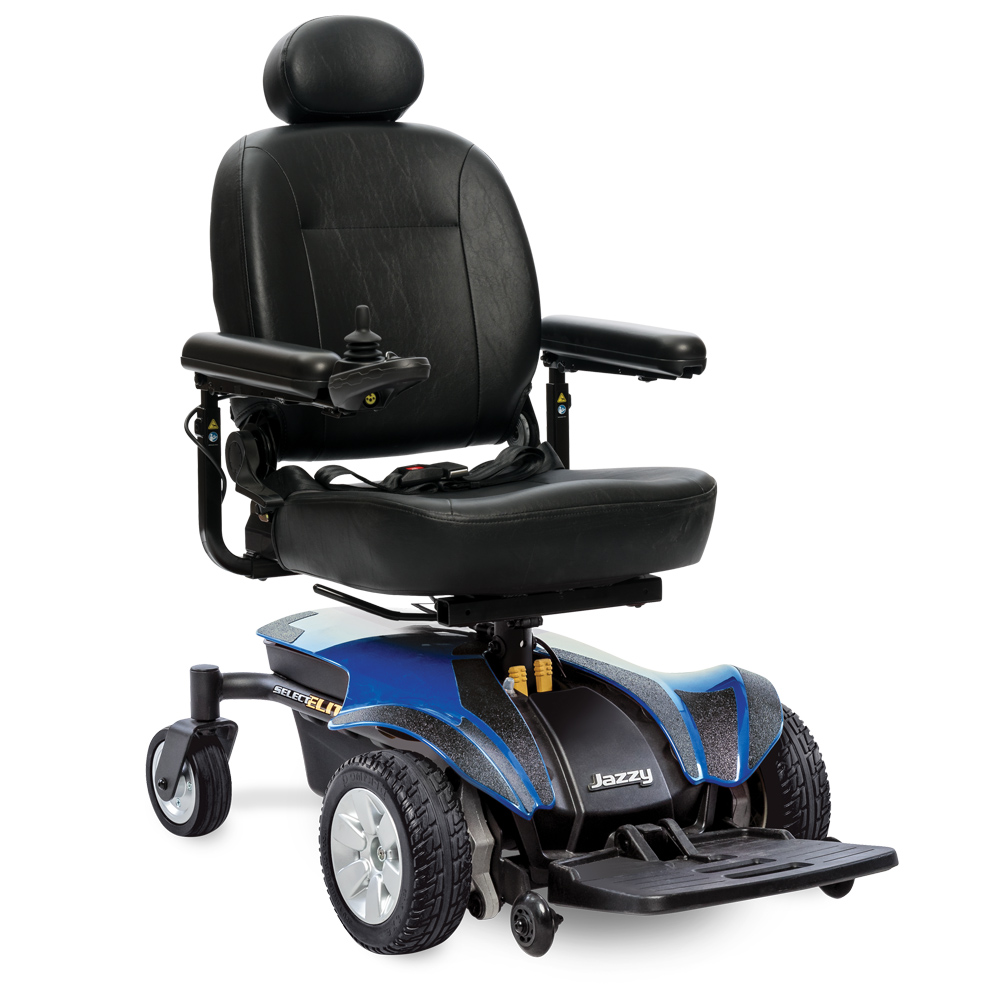 Jazzy Select Elite Full Size Power Wheelchair