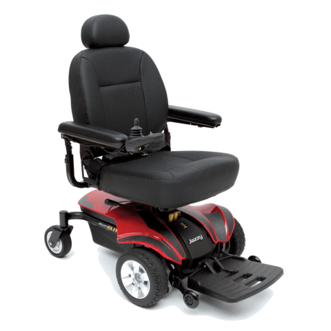 Jazzy Select Elite Full Size Power Wheelchair