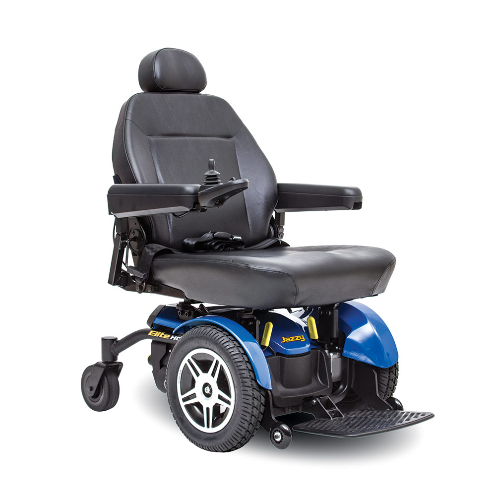 Jazzy® Elite HD Full Size Power Wheelchair