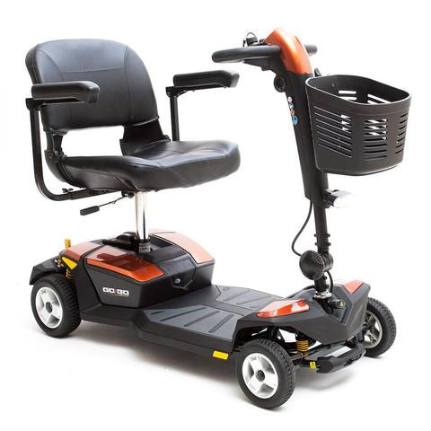 Go-Go LX 4-Wheel Travel Scooter w 12AH
