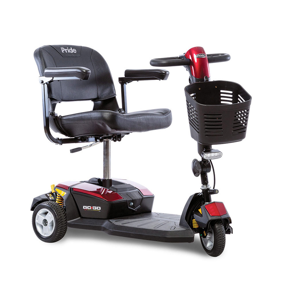 Go-Go LX 3-Wheel Travel Scooter w 18 AH