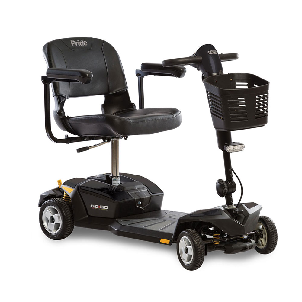 Go-Go LX 4-Wheel Travel Scooter w 18 AH