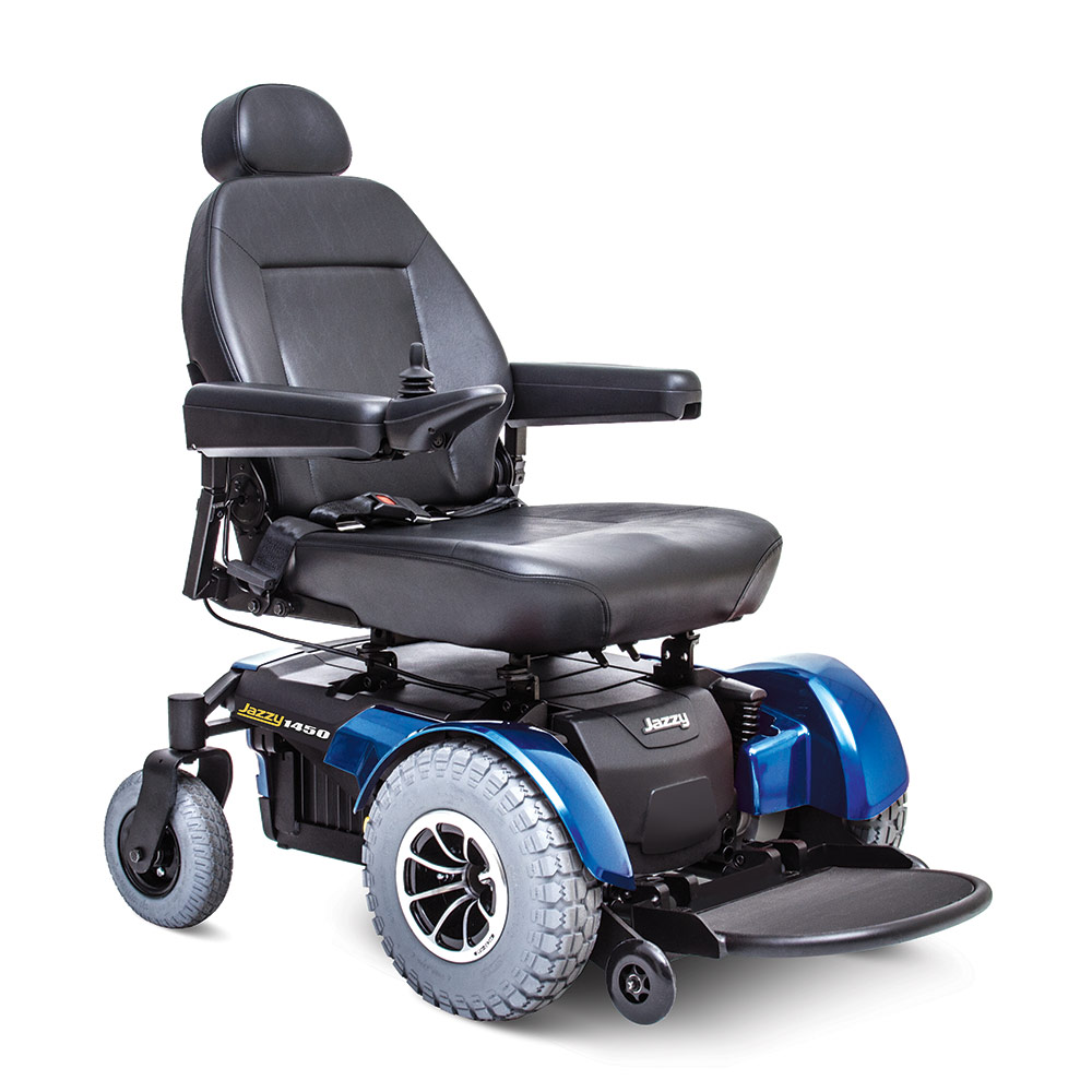 Jazzy® 1450 Full Size Power Wheelchair
