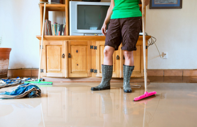 Tackling Flood Clean Up Yourself