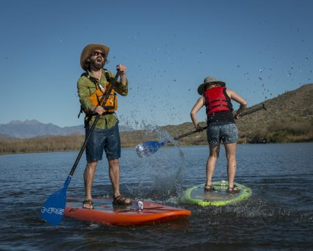Arizona Outdoor Adventures Paddleboarders Funny