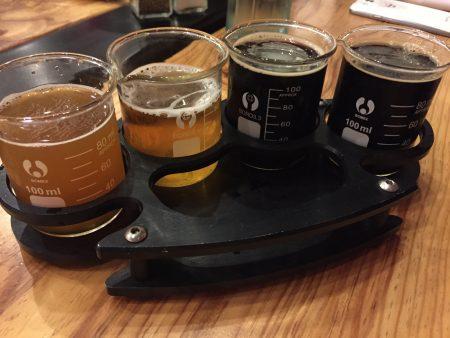 BRI Brass Knuckle Beer Flight