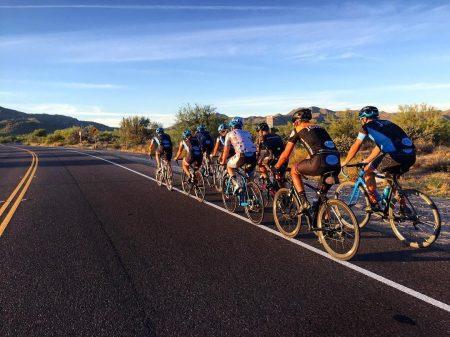Bicycle Riders on Usery Pass Road Crowdriff Instagram credit twowheeljones
