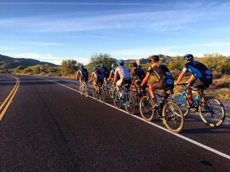 Bicycle Riders on Usery Pass Road Crowdriff Instagram credit twowheeljones