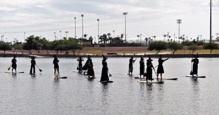 Desert Paddleboards Witches Regatta Halloween facebook event
