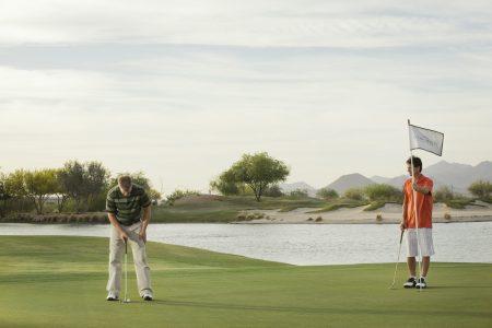 Longbow Golf Club golfers
