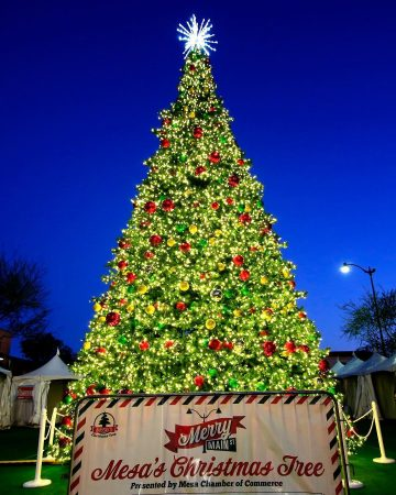 Merry Main Street Christmas Tree