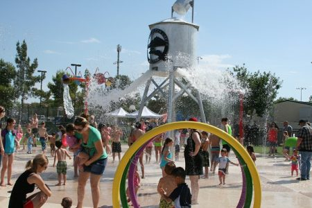 founders park splash pad