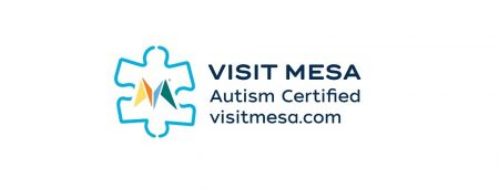 Visit Mesa Autism Certified Logo_includes website