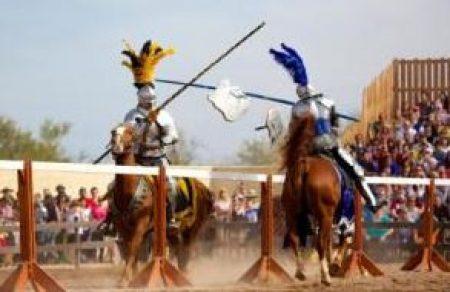 AZ Renaissance Festival jousting 2