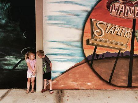 Mesa Art Walk Downtown Mesa Mural Kids - Crowdriff