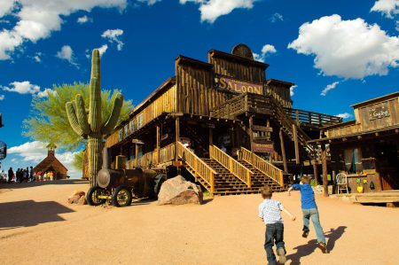 Mammoth Saloon at Goldfield Ghost Town