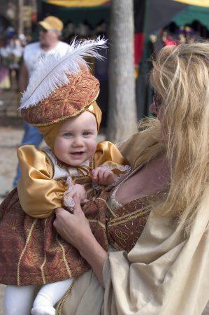 AZ Renaissance Festival costume baby