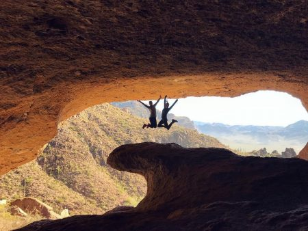 Wave Cave Superstition Mountains Hiking