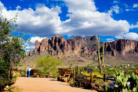 Goldfield Ghost Town Landscape Large