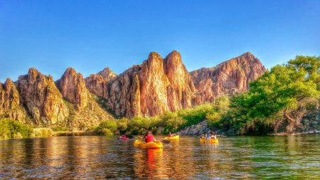 Saguaro Lake Ranch Salt River Kayaking