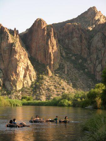 Salt River Tubing at Saguaro Lake Ranch Water Recreation