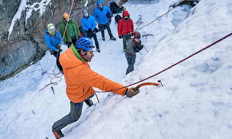 ice climbing ouray ice park