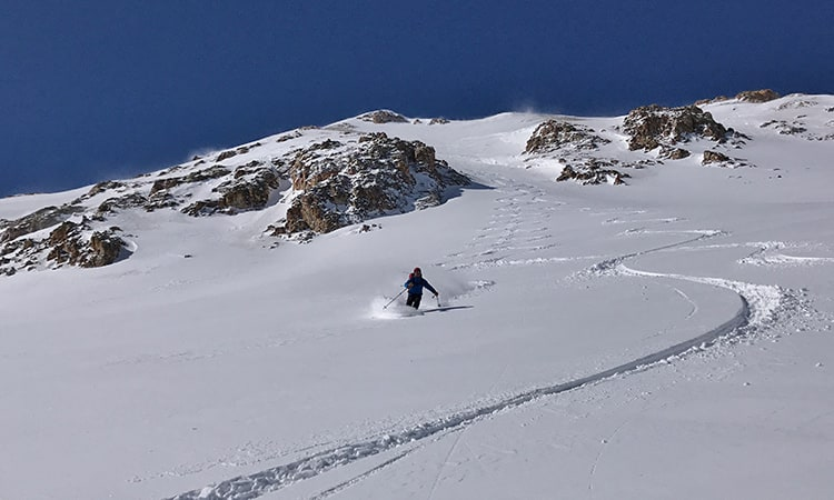 backcountry skiing san juans