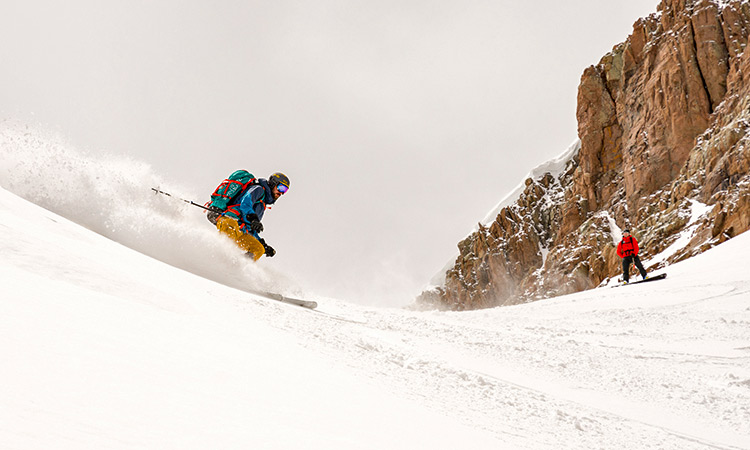 ski mountaineering red mountain pass