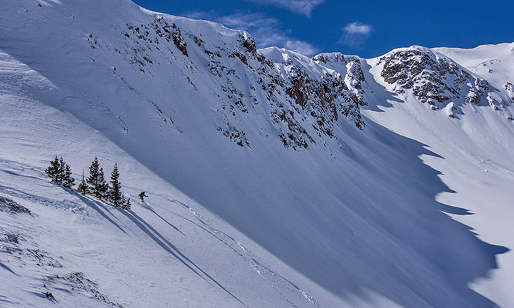 splitboard mountaineering red mountain pass