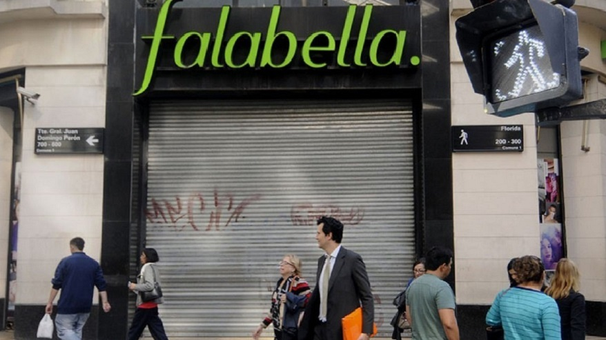 The closure of Falabella, part of the sale of Sodimac.