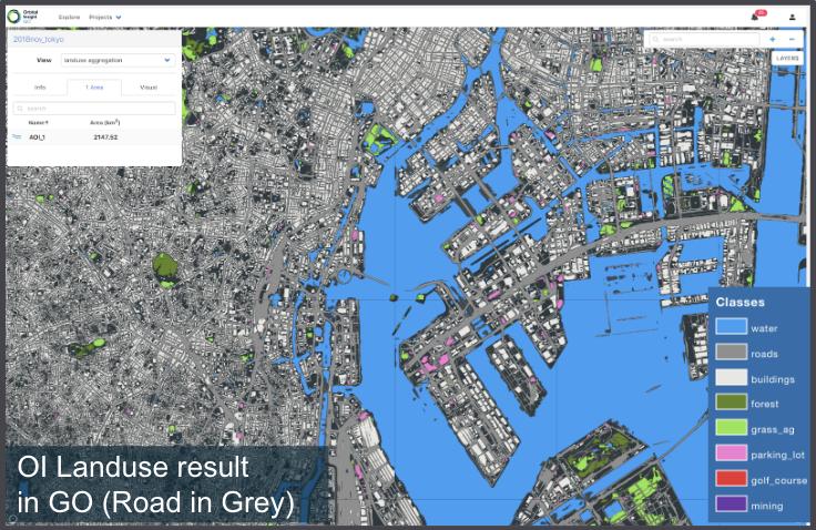 Orbital Insight land use results
