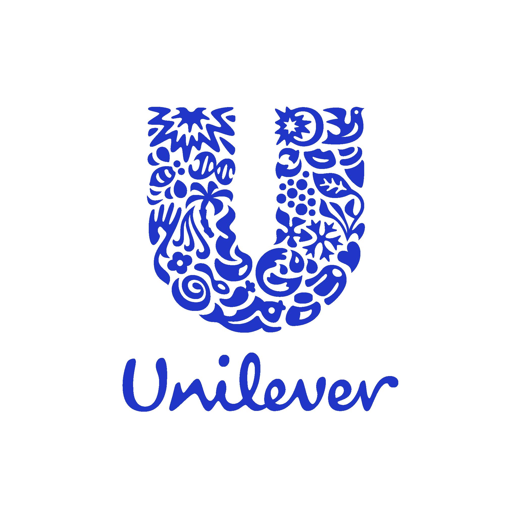 Unilever Logo blue transparent RGB