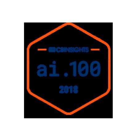 CB Insights AI 100 2018 Award