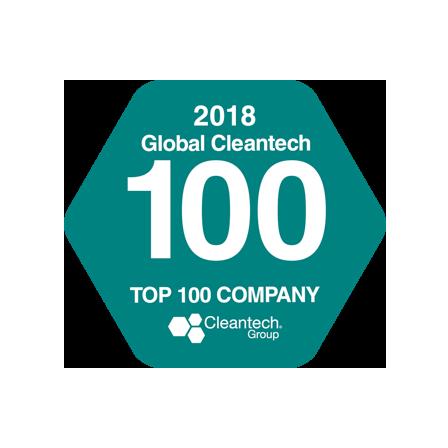 Cleantech Top 100 2018 Award