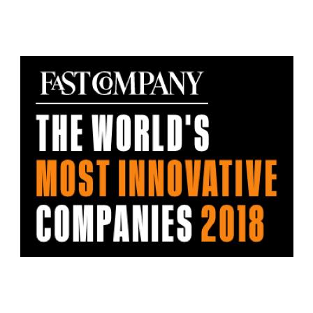 Fast Company Most Innovative Companies 2018 Award