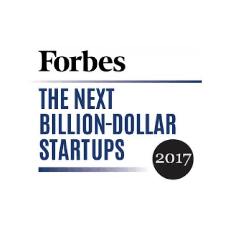 Forbes 2017 Next Billion Dollar Startups Award
