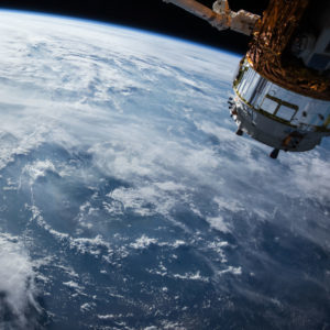 View of Earth from a Satellite