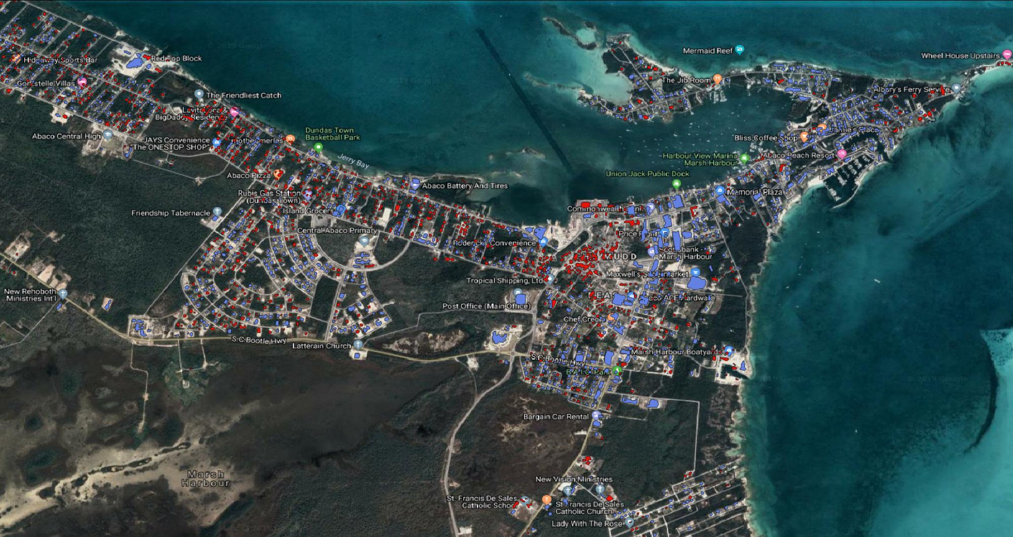 Bahamas Dorian land use