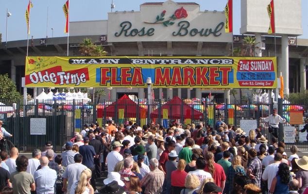 Rose Bowl Flea Market, Pasadena, LA Events