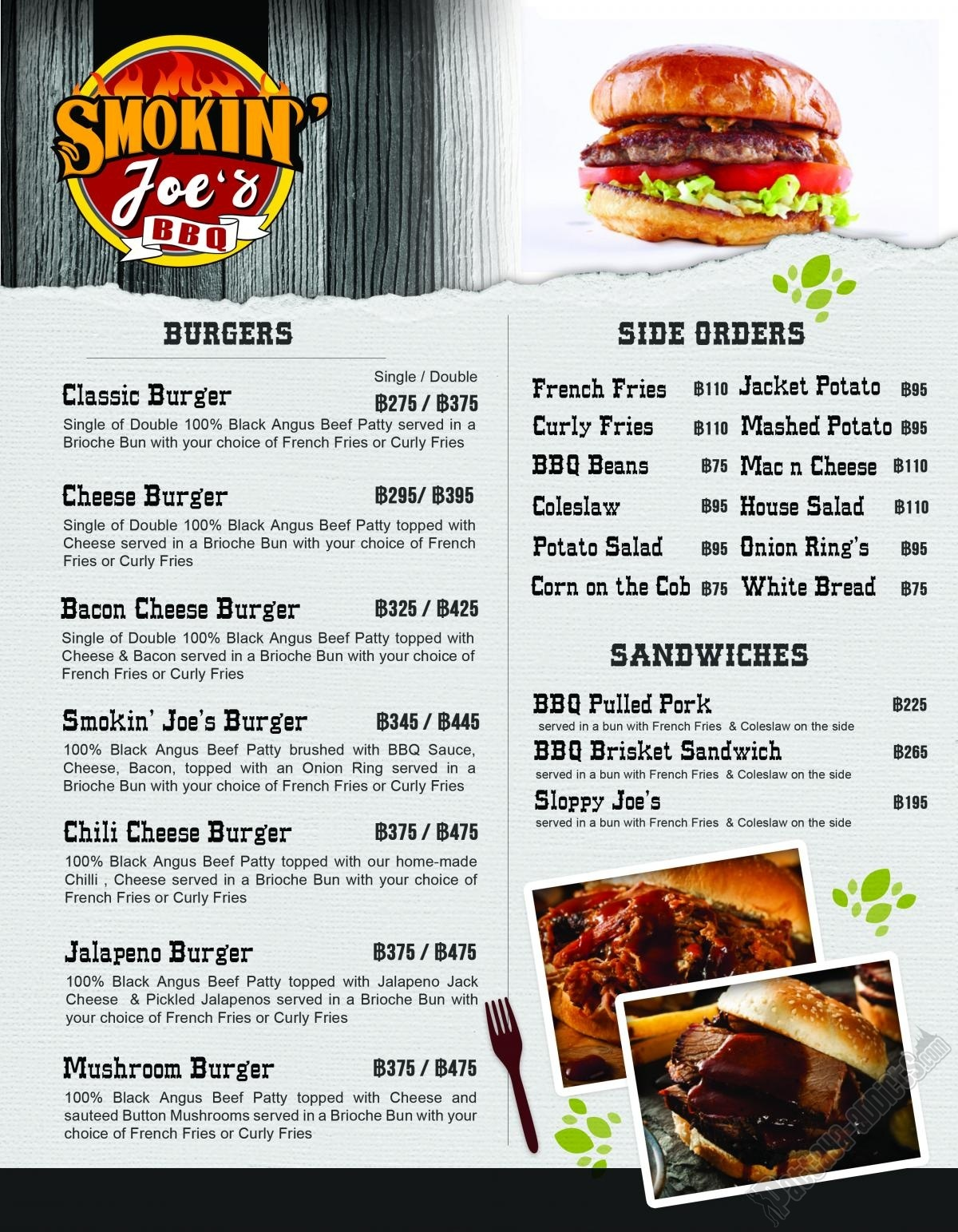 Smokin&#39; Joe&#39;s <a href='https://www.facebook.com/M.C.BurgerThailand/' class='notreplace' title='' target='_blank'  style=